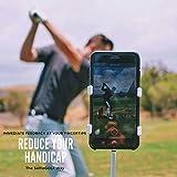 SelfieGolf record Swing–telefono cellulare della clip e allenamento di TM–Accessori da golf | il vincitore del PGA Best New product of 2017| Compatibile con qualsiasi Smart Phone (nero opaco)