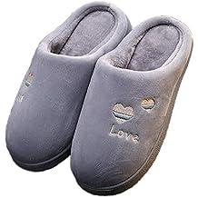 Mini Balabala Donna Inverno Calde Pantofole Comode Peluche Cotone Pantofole  Pantofole Coppie Scarpe da Casa per 2488da4a585