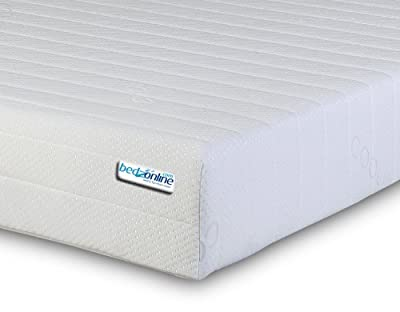 4FT6 Double Memory Foam and Reflex Mattress with Border Miqro Quilted Exclusive Cover produced by PLATINUM ENTERPRISE UK LTD - quick delivery from UK.