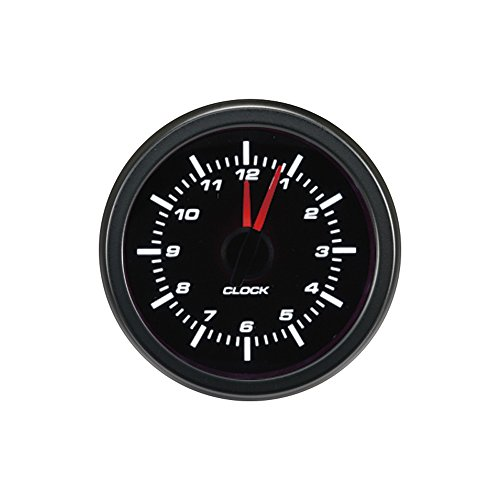 Preisvergleich Produktbild Autostyle AGTCK-12 Klassik Performance Instrument Analog Uhr 52mm,  Black