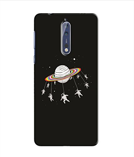 Kaira High Quality Printed Designer Soft Silicon Back Case Cover For Nokia 8(260)  available at amazon for Rs.279