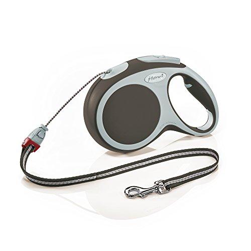 Flexi Roll-Leine Vario M Seil 8 m braun für Hunde bis max. 20 kg