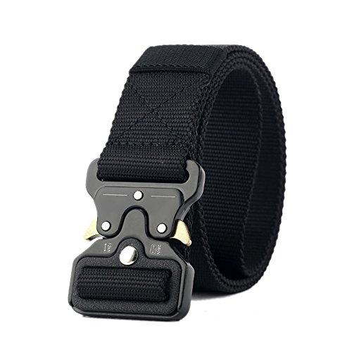 Owikar mens tactical cintura multifunzionale cintura in nylon militare regolabile esercito attrezzature da allenamento cintura a sgancio rapido per la caccia all'aperto arrampicata escursionismo