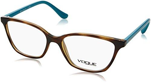 Vogue - VO 5029, Rechteckig, Propionat, Damenbrillen, HAVANA PETROLEUM(2393), 54/16/140