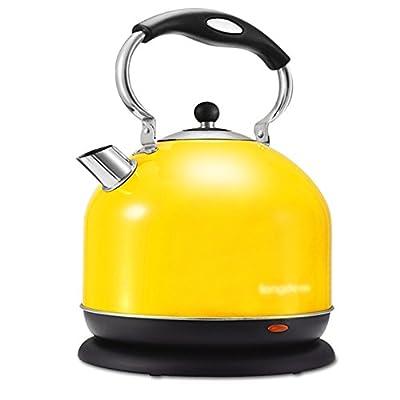 Xiao Mi Guo Ji Bouilloire électrique en Acier Inoxydable brossé - 3L 2000W Déconnectez automatiquement l'alimentation, Chauffage Rapide Bouilloire électrique