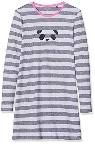 Schiesser Mädchen Sleepshirt 1/1 Nachthemd, Grau (Grau-Mel. 202), (Herstellergröße: 176)