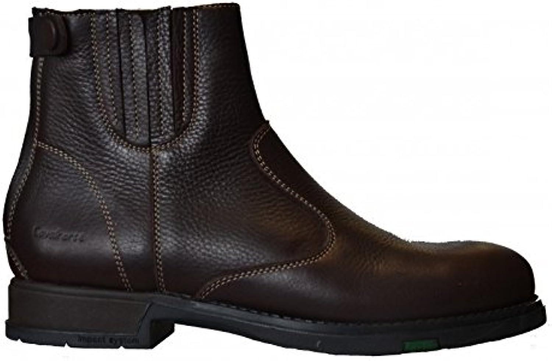 Boots Patagonia de piel con elásticos fonsorbes 47 marrón