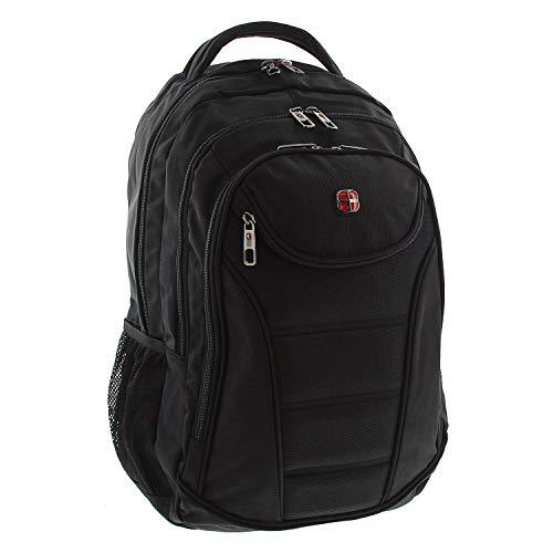ort Daypack Multifunktionsrucksack hochwertig Business Arbeit Uni Schule Reise 40L schwarz ()