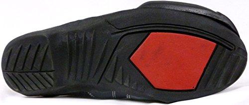 bottes de moto XTRM VENOM sport moto armure course tourisme bottes toutes couleurs rouge