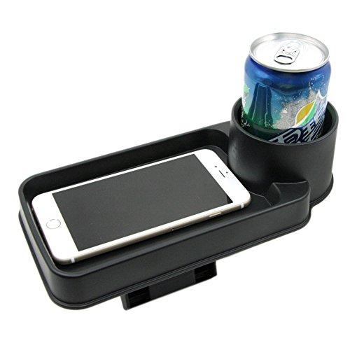 Preisvergleich Produktbild Multi-funktionale Aufbewahrungsbox faltbar Auto Tablett-Halter DRINK Lebensmitteln Becherhalter Waren Aufbewahrung Fahrzeug Gap Collection Box Aufbewahrungsbox