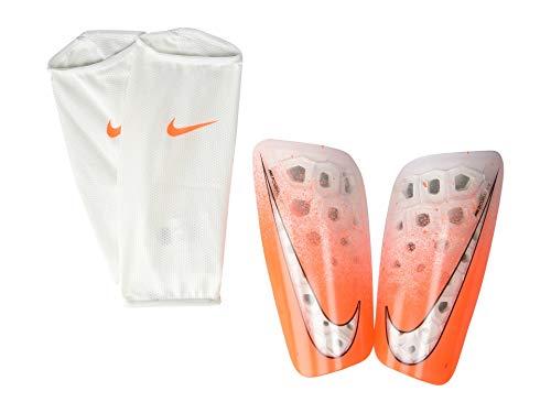 Nike Unisex- Erwachsene Mercurial Lite Guard Schienbeinschoner, Hyper Crimson/White, S