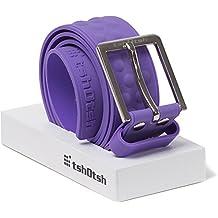 Tshotsh Original Splash Plain Belt-Purple- Unisex Belt - Waterproof
