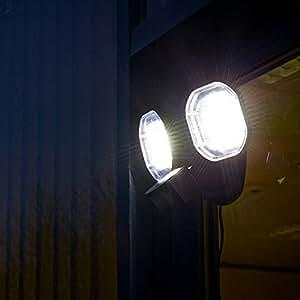 Powerbee 174 Signaller Twin Head Solar Security Light 56