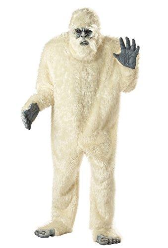 Yeti Kostüm Schneemensch Übergröße - Größe XXXL