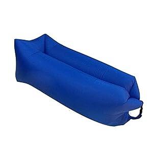 otdair aufblasbare Liege Sofa tragbar Sofa Bett Air Sofa für Reisen, Camping, Strand, Park, dunkelblau
