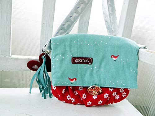 """Mädchentasche""""Glückskind"""" schönes Geschenk für kleine Mädchen, Mädchengeschenk, Kommunion, Umhängetasche, Frühling, Kindertasche"""