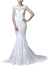George Bride Completo punta Organza Sexy Vestidos de novia Vestidos de Boda