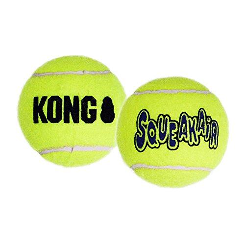 KONG AIR SQUEAKAIR TENNIS BALL 3ST - size S