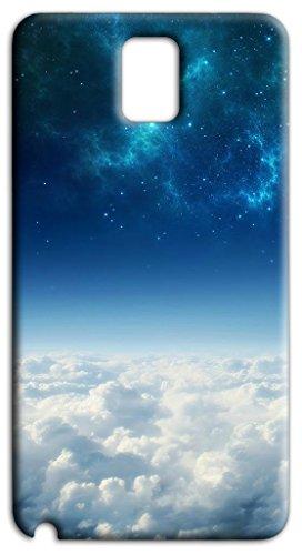 Mixroom - Cover Custodia Case in TPU Silicone Morbida per Samsung Galaxy Note 3 III N9005 Q244 Universo Cielo