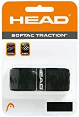 HEAD Softac Traction Tennis Grip (Black)