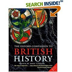 The Oxford Companion to British History por Edited by John Cannon