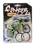 autone Finger Bike, Spielzeug Motocross Bikes, Finger Bike Sets enthalten mini-bikes und Ersatz Werkzeug, grün