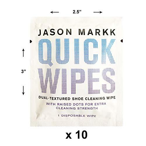 Jason Markk Jason Markk Unisex Essential Shoe Care Kit PLUS Set of 3 Pack Quick Wipes