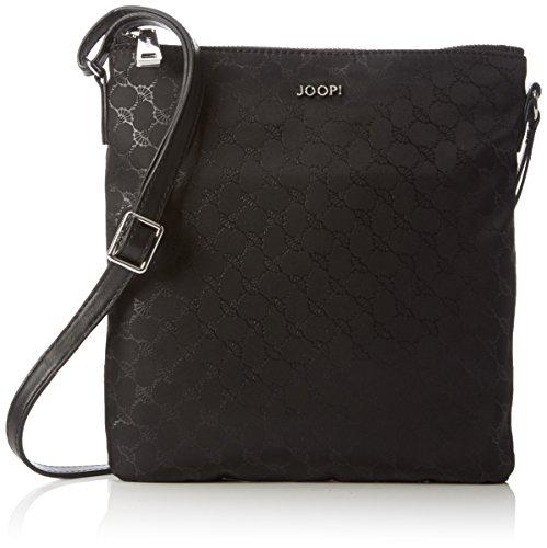 Joop! - Nylon Cornflower Dia ShoulderBag MVZ, Borsa a tracolla Donna Nero (900)