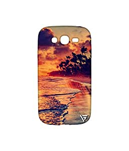 Vogueshell Beach Printed Symmetry PRO Series Hard Back Case for Samsung Galaxy Grand