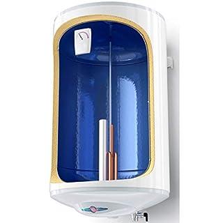 30 L Liter Elektro Warmwasserspeicher Boiler 2- fach emailliert Antikalk Beschichtung 1200 Watt