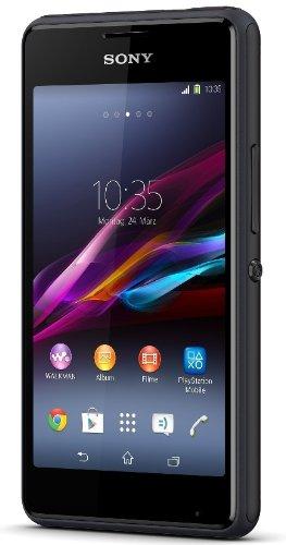 Sony Xperia E1 - Smartphone libre Android  Pantalla 4   c  mara 3 Mp  4 GB  Dual-Core 1 2 GHz  512 MB RAM   negro