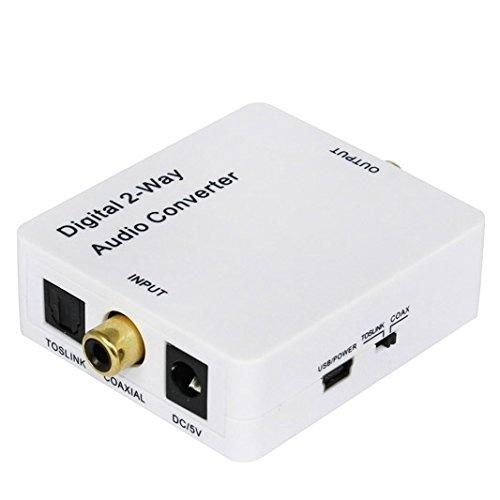 Video-Konverter, HDV-2CT Mini Digital 2-Wege Audio Converter, koaxial zu Toslink oder Toslink zu koaxialen Hdv-konverter