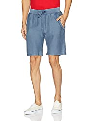 Tommy Hilfiger Mens Cotton Shorts (8907504577705_S7ATN111_XX-Large_Ensign Blue)