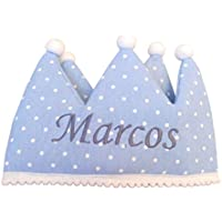 Corona de cumpleaños personalizada.