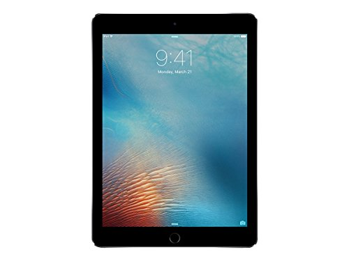 iPad Pro 24,6 cm (9,7 Zoll), Modell 2016 Grau grau - Space Gray 128 GB (Generalüberholt) (Facetime Wi)