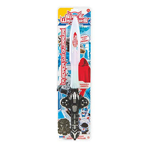 Rstoys - Ronchi Supe - Blister Espada Space Warrior, Multicolor, 3.st10345