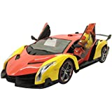 Curtis Toys 1:10 Scale Premium Quality Open Door Iron Man RC Car For 3+ Kids