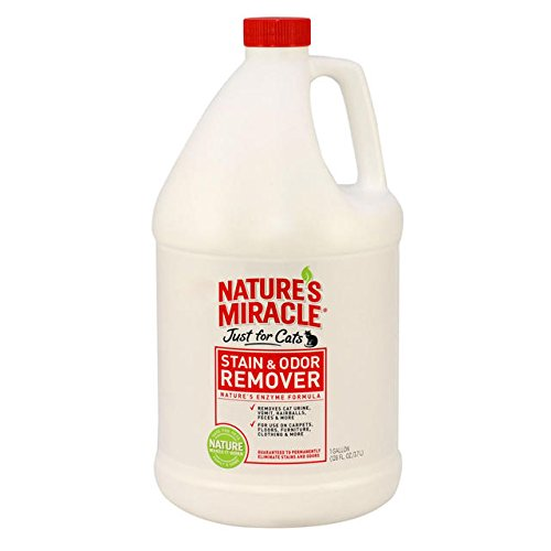 Artikelbild: Nature's Miracle Just For Cats Stain And Odor Remover, Gallon (515804) by Nature's Miracle