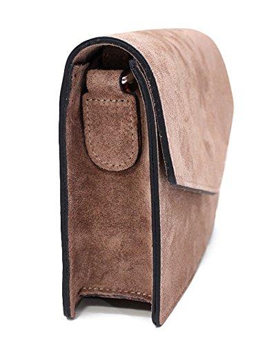 c434a48c8709 ... ImiLoa Ledertasche klein schwarz braun blau grau Lederhandtasche  Umhängetasche echt Leder Tasche Wildleder Handtasche Dunkelblau