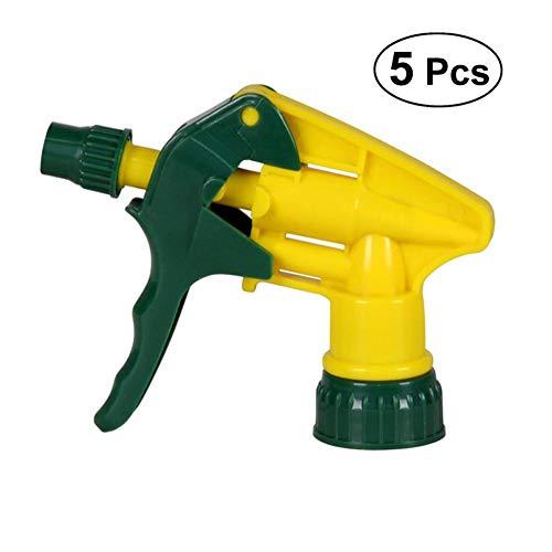 Beito 5 Piezas Sin Fugas Química Resistente Spray Industrial De La Cabeza Pulverizadores De Recambio para Automóvil/Detailing, Limpieza De Cristales