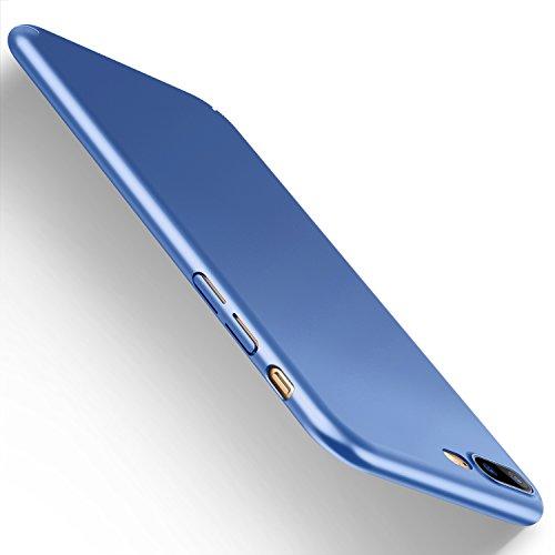 Funda-iPhone-7-Plus-HUMIXX-Alta-Calidad-Ultra-Slim-Anti-Rasguo-y-Resistente-Huellas-Dactilares-Totalmente-Protectora-Caso-de-Plstico-Duro-Cover-Case-iPhone-7-Plus-cielo-azul