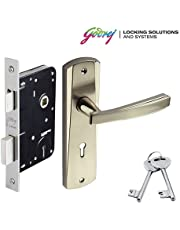 Godrej ELC 06 6-Lever Zinc Alloy Door Handle with Body Mortise Lock