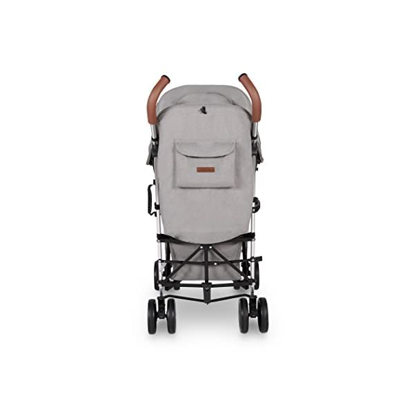 Ickle Bubba Baby Discovery Stroller| Lightweight Stroller Pushchair | Compact Fold Technology for Easy Transport and Storage | UPF 50+ Extendable Hood | Grey/Silver Ickle Bubba ONE-HANDED 3 POSITION SEAT RECLINE: Baby stroller suitable from 6 months to 22kg. 4 years old; features rain cover UPF 50+ RATED ADJUSTABLE HOOD: Includes a peekaboo window to keep an eye on the little one; extendable hood-UPF rated-to protect against the sun's harmful rays and inclement weather LIGHTWEIGHT DESIGN WITH COMPACT FOLD TECHNOLOGY: Easy to transport, aluminum frame is lightweight and portable-weighs only 7kg; folds compact for storage in small places; carry strap and leather shoulder pad included 6