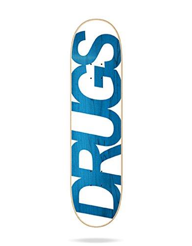 Jart Drugs Skateboard, Unisex, Erwachsene, Blau, 8.0