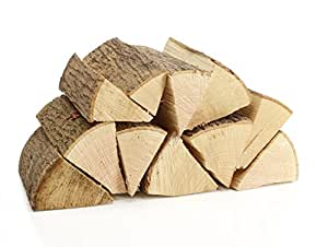 120 kg ofenfertiges Eiche Brennholz 25 cm lang trocken - LIEFERUNG KOSTENLOS - Kaminholz Feuerholz Grillholz