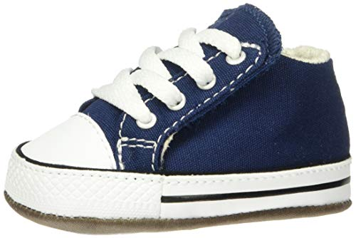 Converse Unisex-Kinder Chuck Taylor All Star Cribster Hohe Sneaker, Blau (Navy 865158c), 19 EU