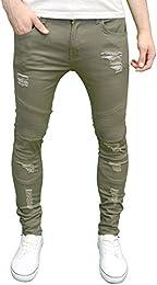 Amazon.co.uk: Green - Jeans / Men: Clothing