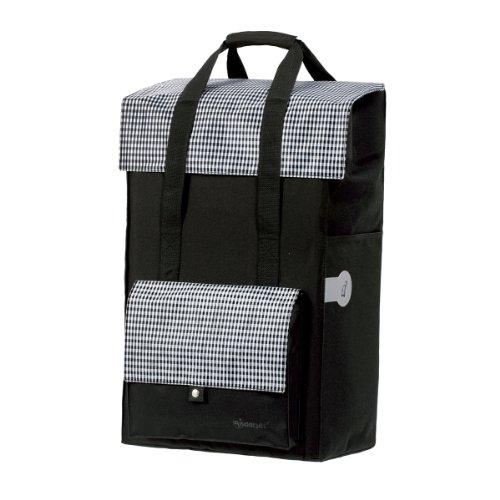 Andersen Shopper Tasche Milla 49 Liter schwarz - Stauraum-insel