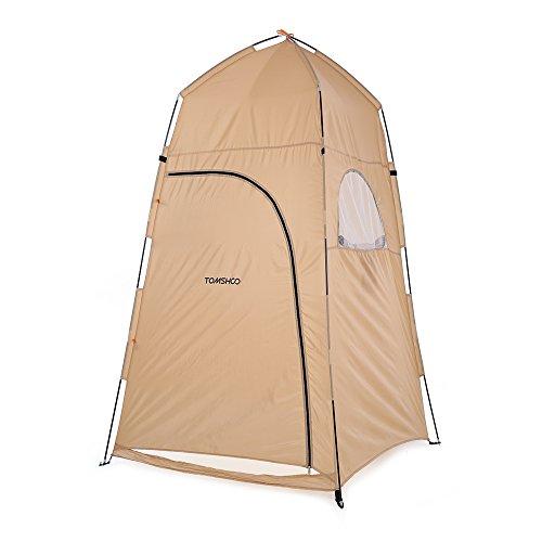 TOMSHOO Outdoor Dusche Badewanne ändern Anprobe Tent Shelter Camping Strand Privatsphäre WC