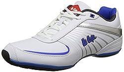Lee Cooper Mens White/Bluep1 Nordic Walking Shoes - 11 UK/India (45 EU)(LC3569)